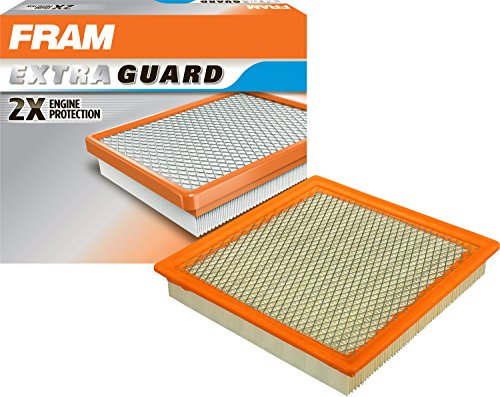 Ford Thunderbird Air Cleaner (FRAM CA6555 Extra Guard Round Plastisol Air Filter)