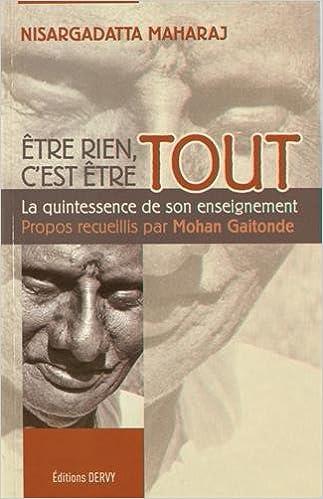 Livre Être Rien C'Est Être Tout pdf, epub ebook