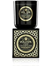 Voluspa Crisp Champagne Classic Maison Boxed Glass Candle, 12 Ounces