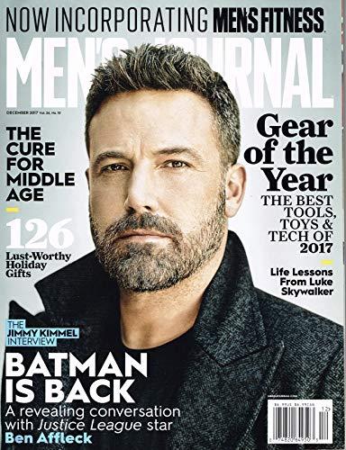 Men's Journal December 2017 Ben Affleck - Batman is Back Single Issue Magazine - 2017