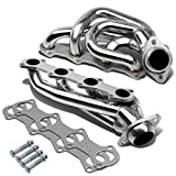 Ford F-150/F-250 4-1 Design 2-PC Stainless Steel Exhaust Header Kit - 5.4L V8