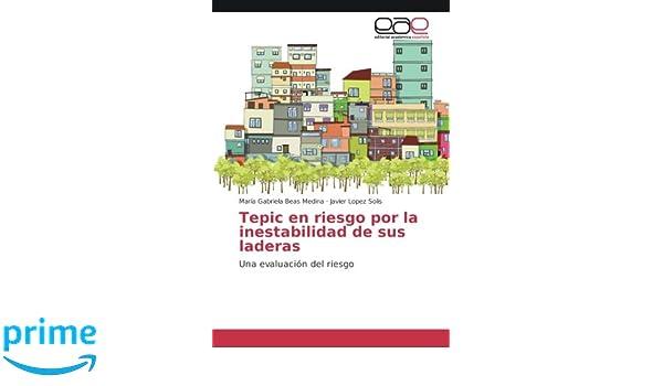 Tepic en riesgo por la inestabilidad de sus laderas: Una evaluación del riesgo (Spanish Edition): María Gabriela Beas Medina, Javier Lopez Solis: ...