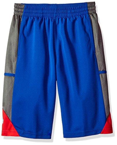 NBA Youth 8-20 Detroit Pistons Tip Off Short-Blue-M(10-12) ()