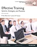 img - for Effective Training International Edition book / textbook / text book