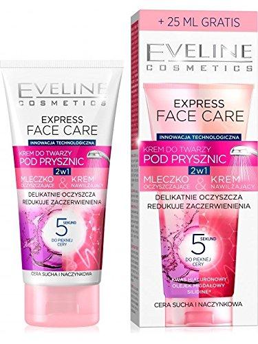 Leche limpiadora para ducha y crema para piel seca 2 en 1 de Eve Line Cosmetics