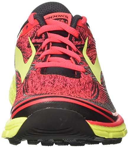 Chaussures Running de Femme Divapink Nightlife Brooks Black Multicolore 6 PureGrit vwqx4IEF