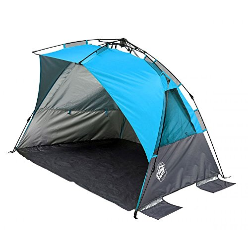 E-Z UP Inc. WT8SP Wedge Portable Beach Sun Shade Canopy, Splash For Sale