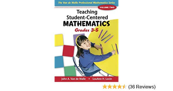 Amazon teaching student centered mathematics grades 3 5 volume amazon teaching student centered mathematics grades 3 5 volume 2teaching student centered mathematics series 9780205408443 john a van de walle fandeluxe Image collections
