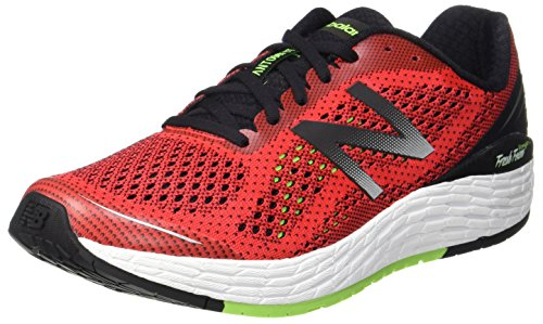 New Balance Men's Vongo V2, Red/Green, 7.5 2E US
