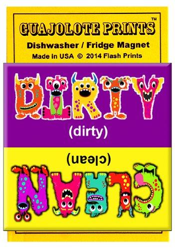 Clean Dirty lavavajillas imán Indicador de señal - Funny ...