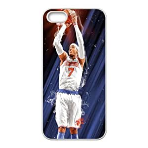 Custom High Quality WUCHAOGUI Phone case Carmelo anthony - New York Nicks Protective Case For Apple Iphone 5 5S Cases - Case-4