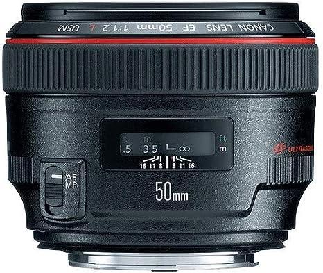 Canon EF 50mm f/1.2L USM - Objetivo para Canon (Distancia Focal ...