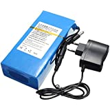DC 12V 15000mAh Super Rechargeable Portable Lithium-ion Battery Pack
