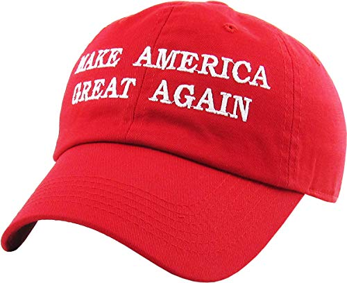 Make America Great Again - Donald Trump 2016 Campaign Cap Hat (003) Red