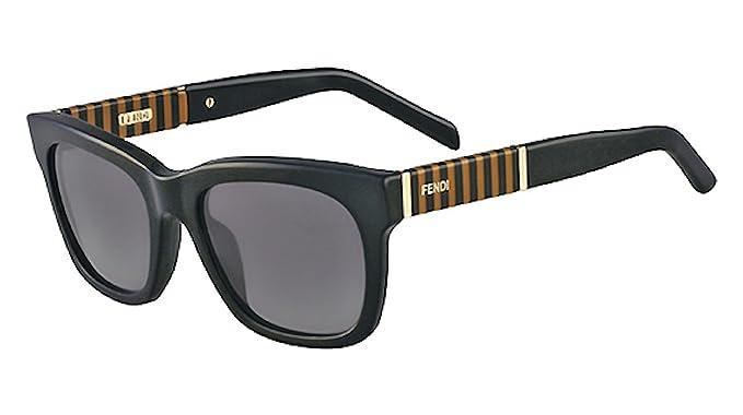 Amazon.com: Fendi anteojos de sol & Free Caso FS 5351 001 ...
