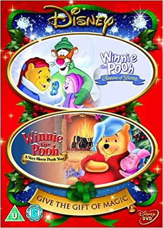 Winnie The Pooh And Christmas Too.Winnie The Pooh Christmas Collection Dvd Amazon Co Uk