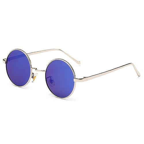Deylay Unisex Vintage Round Classic Polarized Sunglasses