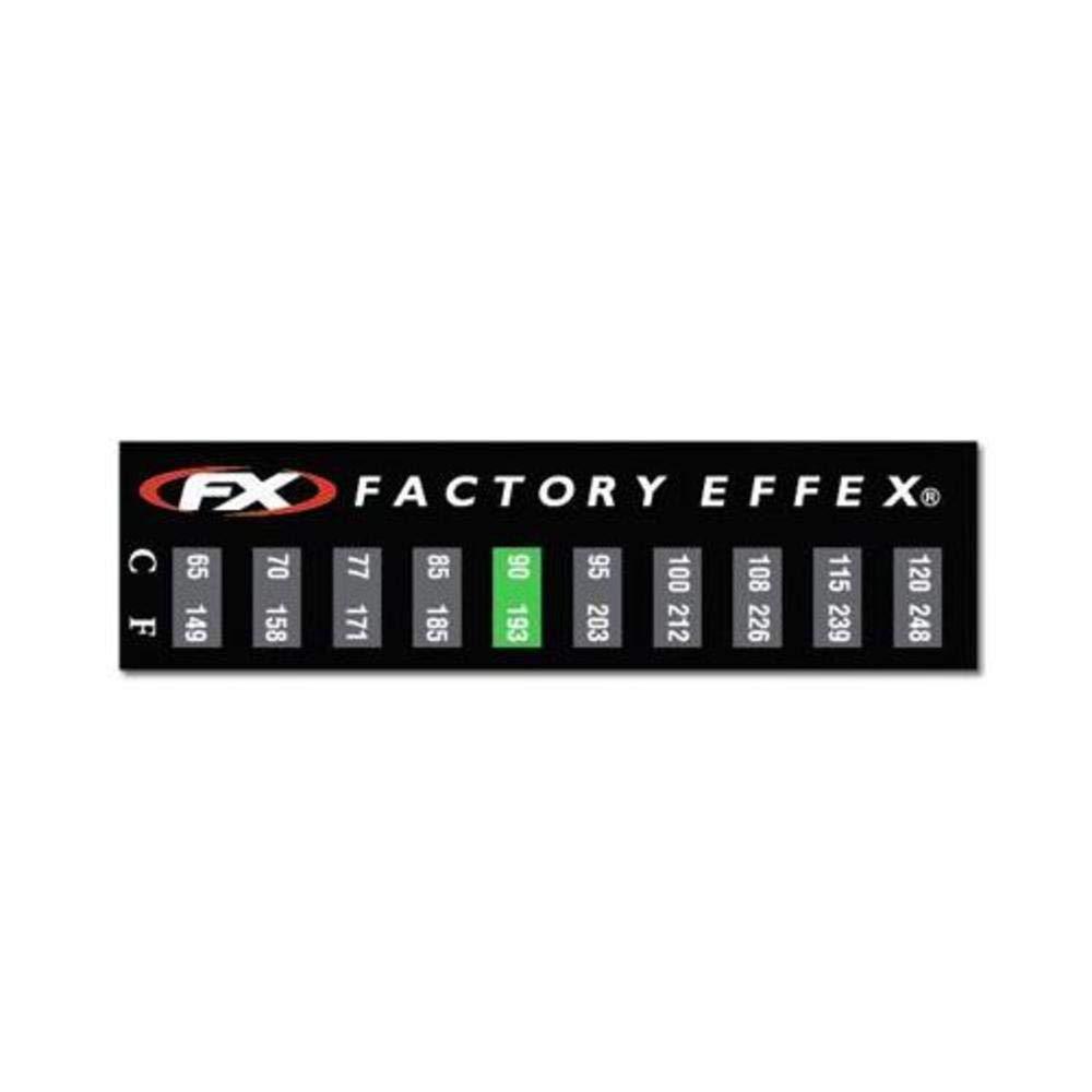 FACTORY EFFEX TEMPERATURE GAUGE STICKER 3 PACK 08-90225-AZ3