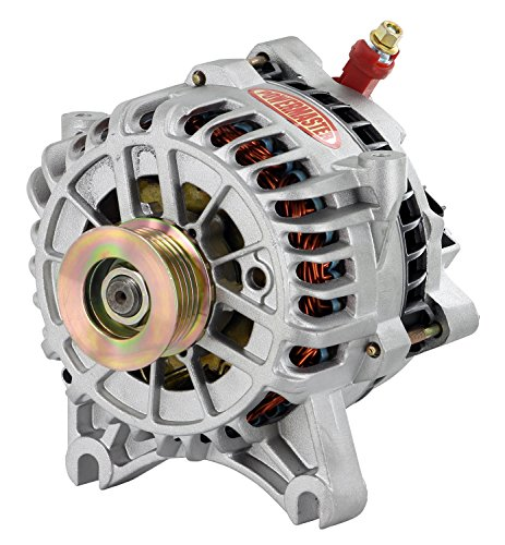 Powermaster Performance 8315 Natural Alternator (6G 140A 6 Groove Pulley Large Frame V Mating LI-SIG-AS ()