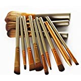 Brand new 12 pieces professional makeup brushes sets