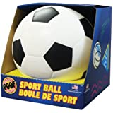 POOF 7.5-Inch Foam Soccer Ball with Box, Colors May Vary