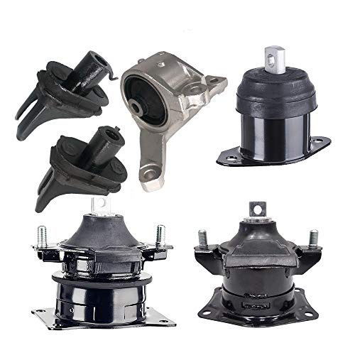 - Engine Motor Mounts Fits 2007 2008 Acura TL 3.2L 3.5L AUTO Engine Motor & Trans Mount Set 6pcs : A4526HY, A4591, A65025, A4566, A4599, A65022