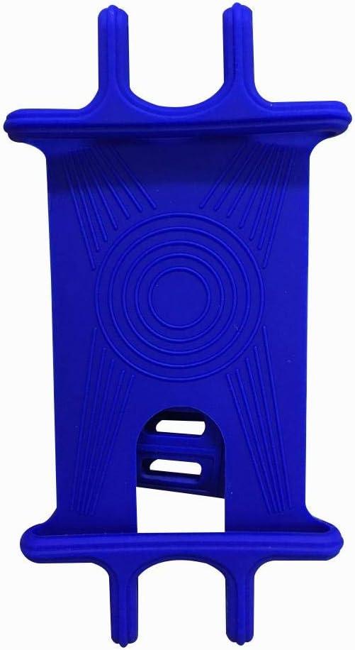 t/él/éphone portable t/él/éph boucle antid/érapante pour t/él/éphone portable poussette Xiamusumer Support universel en silicone pour v/élo ou moto guidon de v/élo t/él/éphone portable