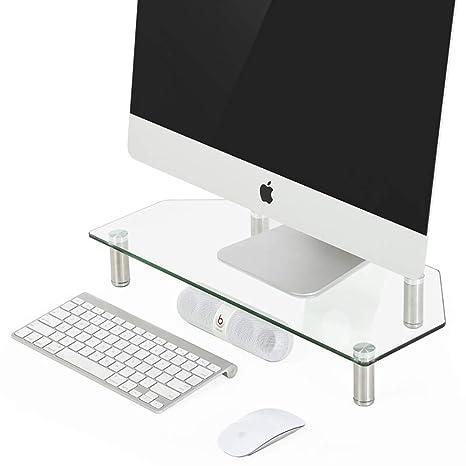 Amazon.com: KKLTWU - Soporte para monitor de vidrio templado ...