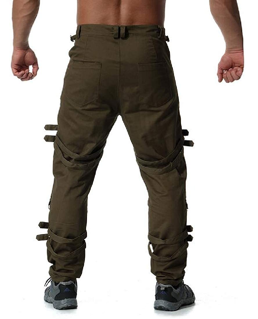 Cotton Camo Tactical Wild Combat Cargo Trousers lovever Mens Military Pants