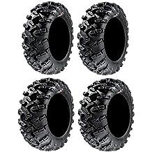 Full set of GBC Grim Reaper Radial (8ply) 26x9-14 and 26x11-14 ATV Tires (4)