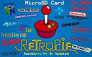 Retropie 16GB Raspberry Pi 2, 3 & 3B+ 11,000+ Games by FL Techz