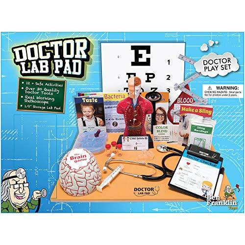 51cfkDbLxeL - Ben Franklin Toys Doctor Lab Pad Biology Kit