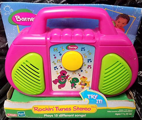 DPW Barney Radio Rockin Tunes Stereo Toy Gift Toddler Boy Music