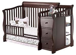 Amazon.com : Sorelle Tuscany Mini Siderail Toddler Bed ...