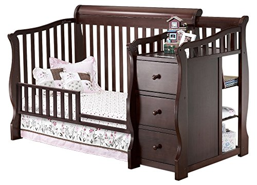 Sorelle Tuscany Mini Siderail Toddler Bed Conversion Kit, (Toddler Conversion Kit)