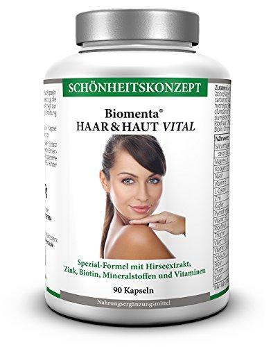 fail biomenta haar haut vital 90 kapseln haar vitamine haut