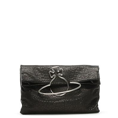 622c077cb1b Vivienne Westwood Oxford Black Leather Clutch Bag: Amazon.co.uk: Shoes &  Bags