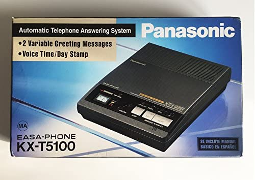 Panasonic kx-t5100 easa-phone – Automatic Telephone Answering System 2 Variable greting Messages – Voice Time/Day Stamp: Amazon.es: Electrónica