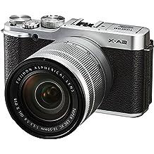 Fujifilm X-A2 Mirrorless Camera & Lens Kit Silver (XC16-50mm F3.5-5.6 II)