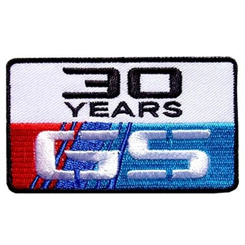 BMW 30th Anniversary R1200gs Adventure Enduro Rally Gs Gsa Motorcycle iron Patch Anniversary Jacket Patch