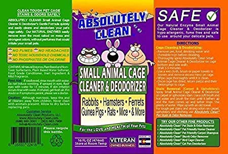 Amazon.com: Amazing Small Animal Cage Cleaner - Just Spray ...