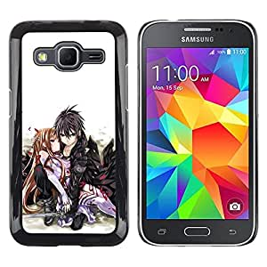 LOVE FOR Samsung Galaxy Core Prime JAPANESE ANIME COUPLE Personalized Design Custom DIY Case Cover