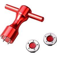 baskciry - 2 Unidades de 20 g de Pesas Personalizadas compatibles con Scotty Cameron California Newport Putters, Color Rojo