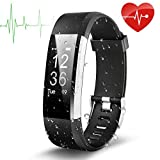 Best Wrist Heart Monitors - Fitness Tracker, EletecPro Sport Waterproof Smart Watch,Wristband Heart Review