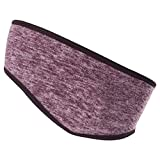 F-dujin Active Lightweight Sports Headband - Non Slip Moisture Wicking Sweatband - Ideal for Running, Biking and Athletic Workouts,Sports, Pilates, Fitness etc.