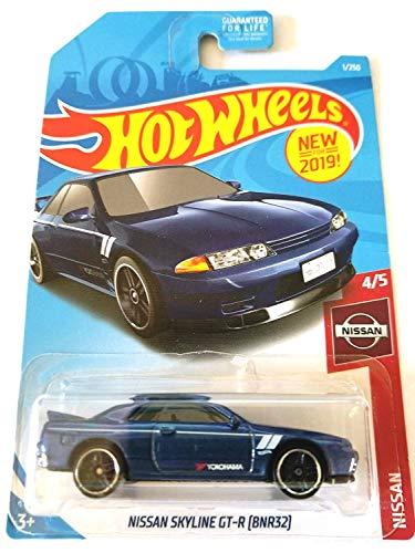 Gtr Wheel - Hot Wheels 2019 Nissan Series Nissan Skyline GT-R (BNR32) 1/250, Blue