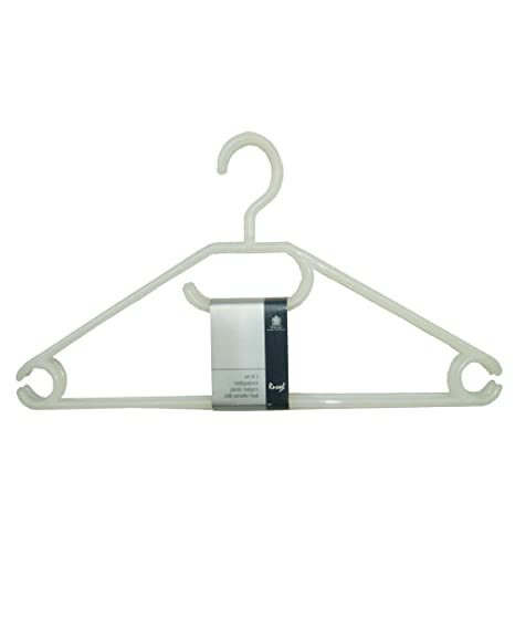 NEW H /& L Russel Trouser Clamp Hangers with Non-Slip Inner Grip and Silver Ho..