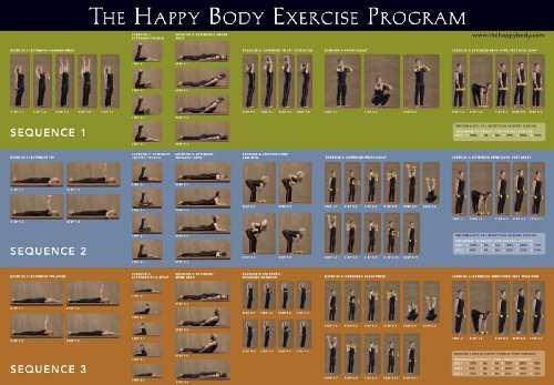 The Happy Body Exercise Program Poster (Workout Routine For 50 Year Old Woman)