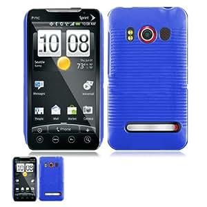 HTC Evo 4G Blue Back Cover