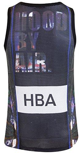 Regular Muscular Malla Chaleco Hombre 810 Impreso Superior béisbol Camo Deportivo para Baloncesto hba Verano q85x0PP